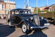 Vintage soviet automobile GAZ M-1 Stock Photography