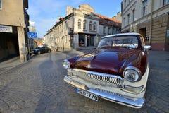Vintage Soviet car Stock Photo