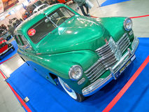 Vintage soviet car victory, exhibition details, Stock Photography