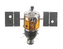 Vintage space satellite isolated. Stock Photography