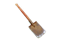 Vintage spade Stock Photo