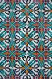Vintage spanish style ceramic tiles Stock Photography