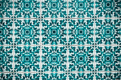 Vintage spanish style ceramic tiles Stock Image