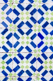 Vintage spanish style ceramic tiles Stock Photos