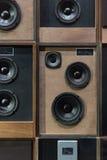 Vintage Speakers Royalty Free Stock Photo