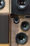 Vintage Speakers Royalty Free Stock Image