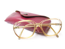 Vintage spectacles stock photo
