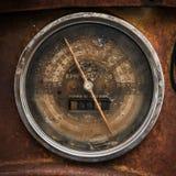 Vintage speedometer Stock Photos