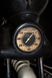 Vintage speedometer Royalty Free Stock Photo