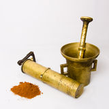 Vintage Spice Grinder Royalty Free Stock Photos