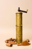 Vintage Spice Grinder Stock Images