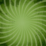 Vintage spiral green background with blots Royalty Free Stock Photos