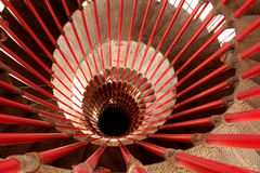 Vintage spiral staircase Royalty Free Stock Photos