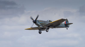 A Vintage Spitfire fighter aircraft Royalty Free Stock Photo