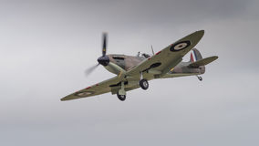 Vintage Spitfire fighter aircraft Royalty Free Stock Photography