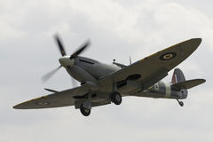 Vintage Spitfire fighter Royalty Free Stock Photo
