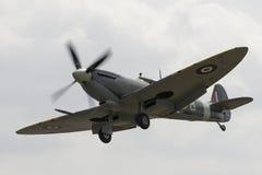 Vintage Spitfire fighter. Vintage Spitfire. British World War 2 fighter plane Royalty Free Stock Photo
