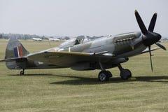Vintage Spitfire fighter. Vintage World War 2 Sptifire. British fighter plane Royalty Free Stock Image