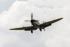 Vintage Spitfire fighter. Vintage World War 2 Sptifire. British fighter plane Royalty Free Stock Photography