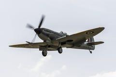 Vintage Spitfire fighter. Vintage World War 2 Sptifire. British fighter plane Royalty Free Stock Photos