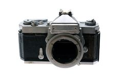 Vintage spoiled camera Royalty Free Stock Image