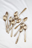 Vintage spoons Stock Images