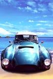 Vintage sport car Royalty Free Stock Images