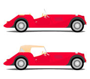 Vintage sport car Royalty Free Stock Image