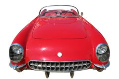 Vintage Sport Car 60-70th Royalty Free Stock Photos