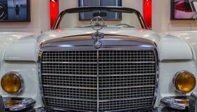 Vintage Sport Mercedes Benz Royalty Free Stock Photos