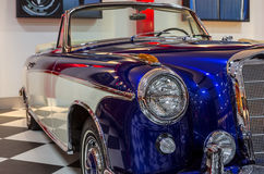 Vintage Sport Mercedes Benz Royalty Free Stock Photo