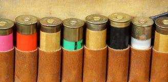Vintage sporting cartridge belt Stock Images