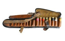 Vintage sporting cartridge belt Royalty Free Stock Images