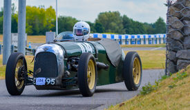 Vintage Sports Car - Green Royalty Free Stock Photos