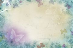 Vintage Spring wallpaper. Abstract combination of soft colors - vintage style royalty free illustration