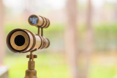 Vintage Spyglass Stock Image