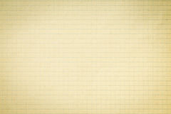 Vintage squared paper. Royalty Free Stock Photography