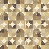 Vintage squared seamless pattern, vector abstract Royalty Free Stock Photos
