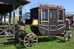 Vintage stagecoach in Peasant Museum Stock Image