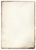Vintage stained book cover Royalty Free Stock Images