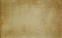 Vintage stained paper texture. Royalty Free Stock Photography