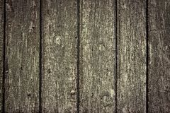 Vintage stained wood background with vignette royalty free stock image
