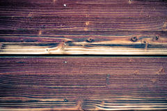 Vintage stained wooden wall Stock Image