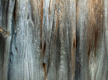 Vintage stained wooden wall background texture. Stock Images