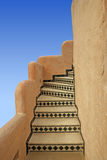 Vintage stair in Mo Rocco style Stock Image