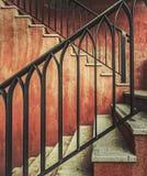 Vintage stair Stock Image
