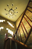 Vintage staircase in castle Royalty Free Stock Images