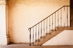 Vintage stairs Royalty Free Stock Photos