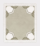 Vintage Stamp Isolated Stock Photography