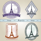 Vintage stamp Paris Stock Photo